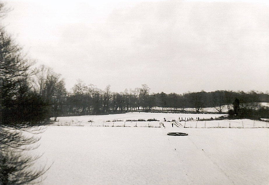View of the frozen Lake from a classroom, 1962